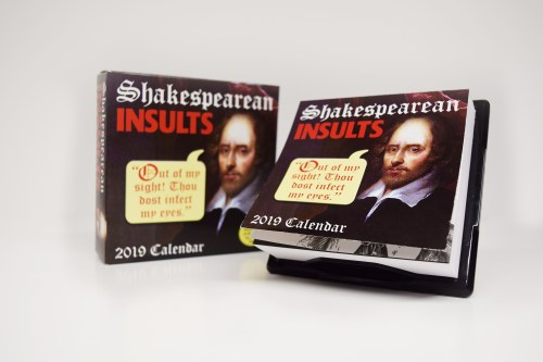 This calendar is one of our eight Christmas gift ideas for Shakespeare fans.