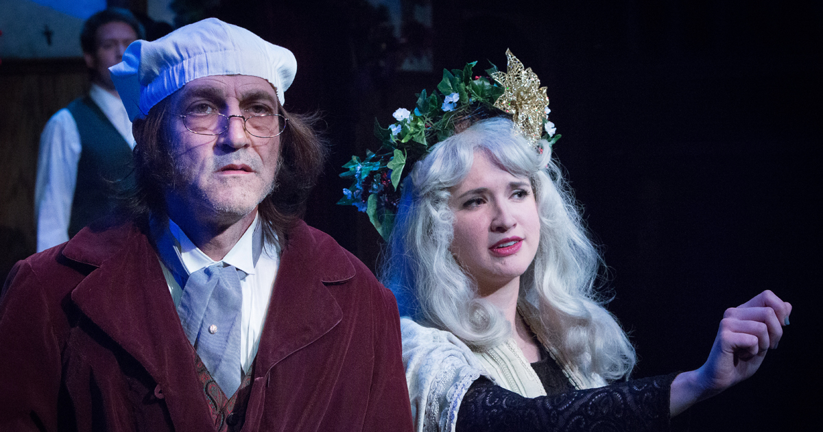 Shakespeare Theaters Stage A Christmas Carol Shakespeare Beyond