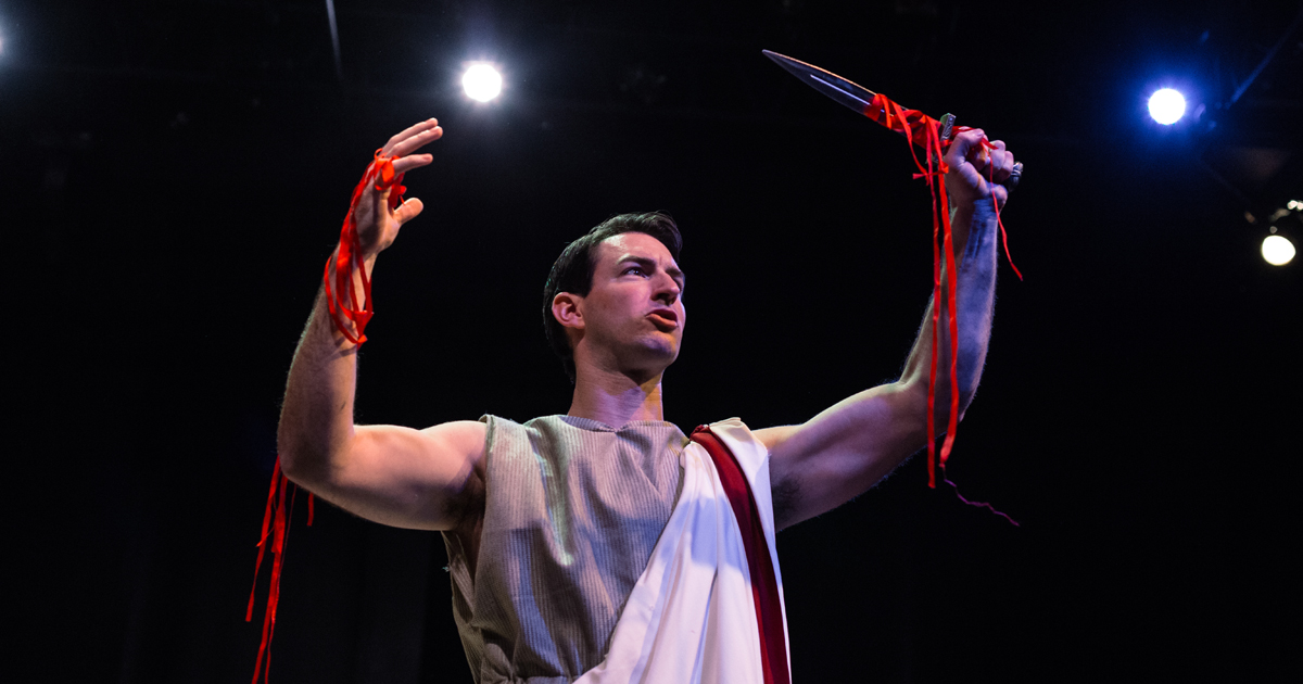 """Julius Caesar"" at Gamut Theatre Group. Photo: Kelly Ann Shuler."