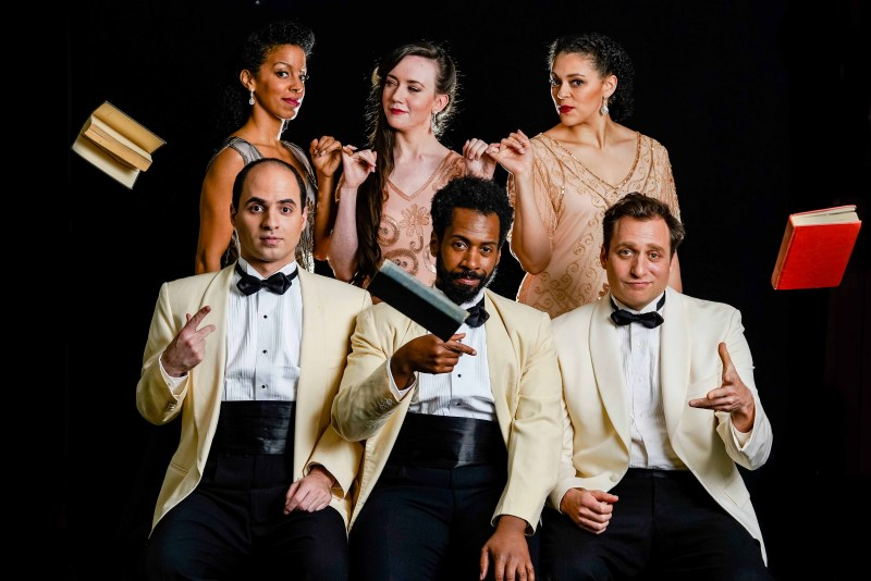The cast of Love's Labors Lost at Folger Theatre. Photo: Brittany Diliberto