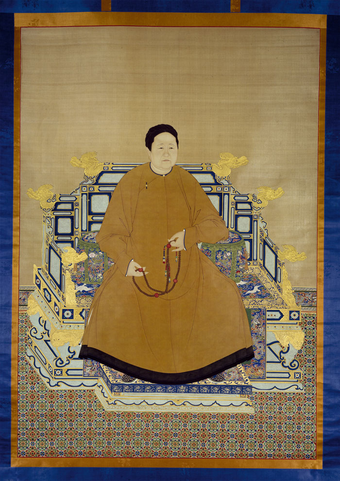 Portrait of Qing Empress Xiaozhuang