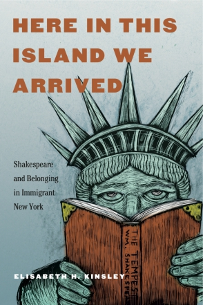 book cover with Statue of Liberty