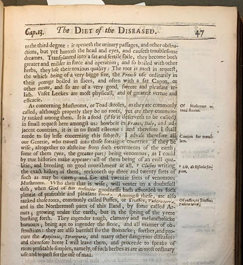 A page from The diet of the diseased