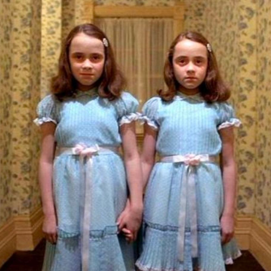 The ghost twin girls from The Shining