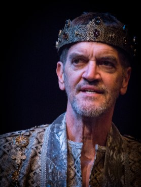 "Chris Kayser as King Lear in ""King Lear"" at the Atlanta Shakespeare Company. Photo: Jeffrey Watkins."