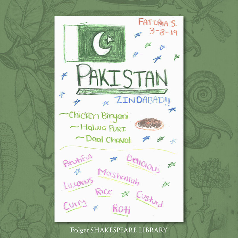 pakistan food memories