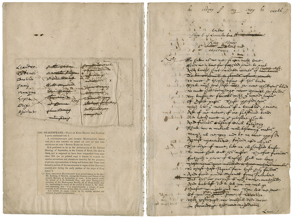 The Dering manuscript