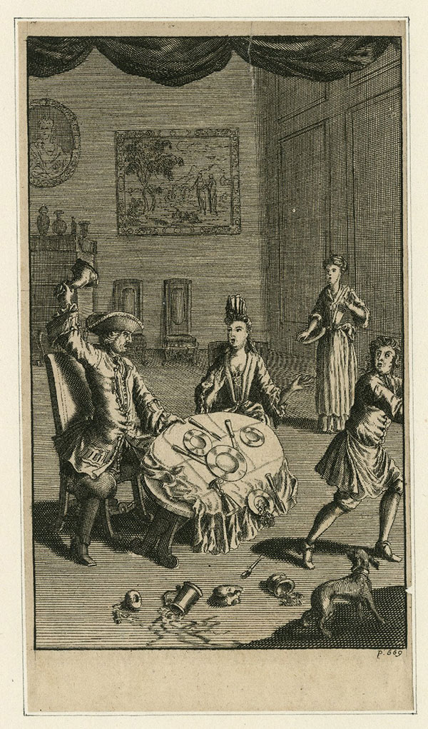 Scene from The Taming of the Shrew