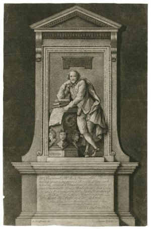 monument of William Shakespeare in Westminster Abbey
