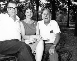 Jack Clowes, Mae Salyers & Doug Ramey, founding members of The Committee for Shakespeare in Central Park.