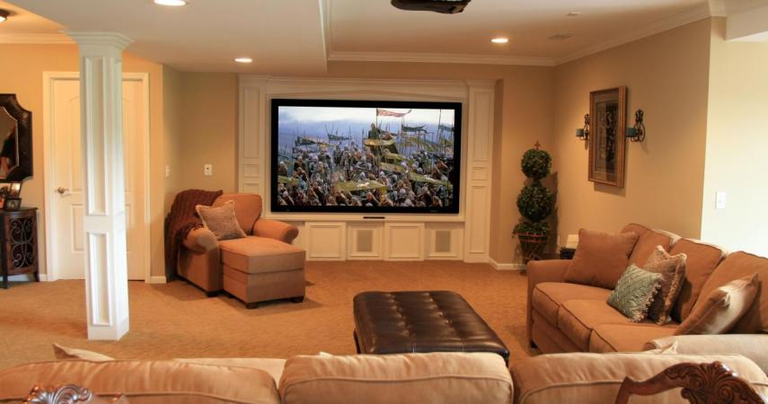 Basement Remodel - Home Theater