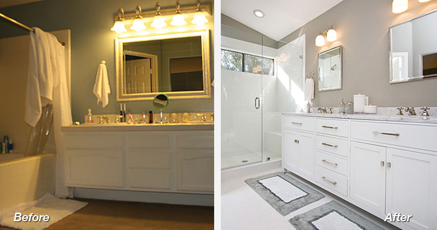 Bathroom Remodel Before and After Photos