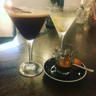 Espresso and Martini