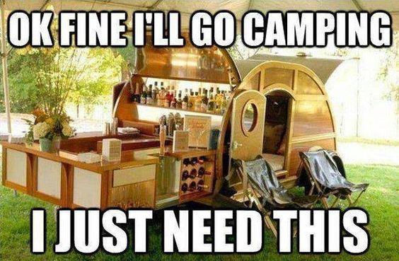 camping bar
