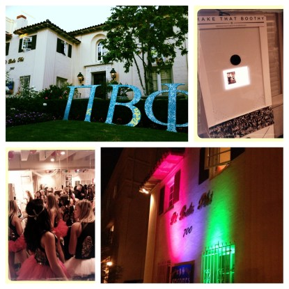 Shake That Boothy CA Delta Pi Phi House