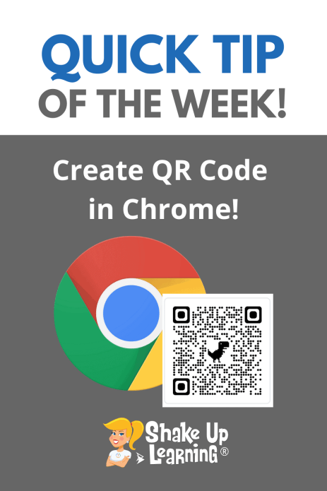Quick Tip: Create QR Code in Chrome