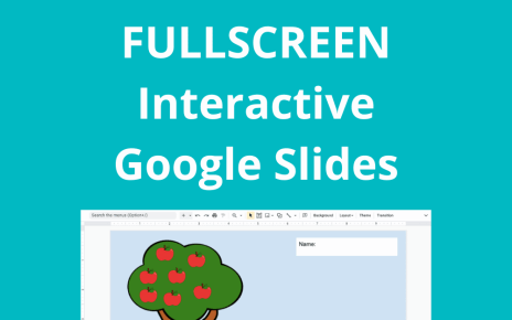 Quick Tip: Fullscreen Interactive Google Slides