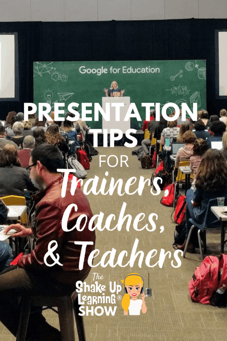 Presentation Tips for Trainers, Coaches, and Teachers – SULS0102