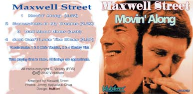 Picture of Maxwell Street's Movin' Along CD cover