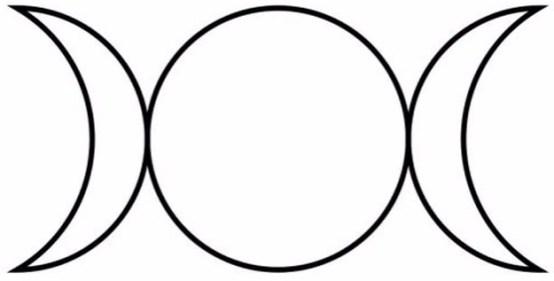 イメージ画像:Horned God :繁栄を願って。上弦→満月→下弦。姿を変えながら繰り返されるように見えて、同じものはない。「変化は不変」であるから豊かである。