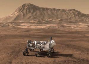 火星探査機キュリオシティー