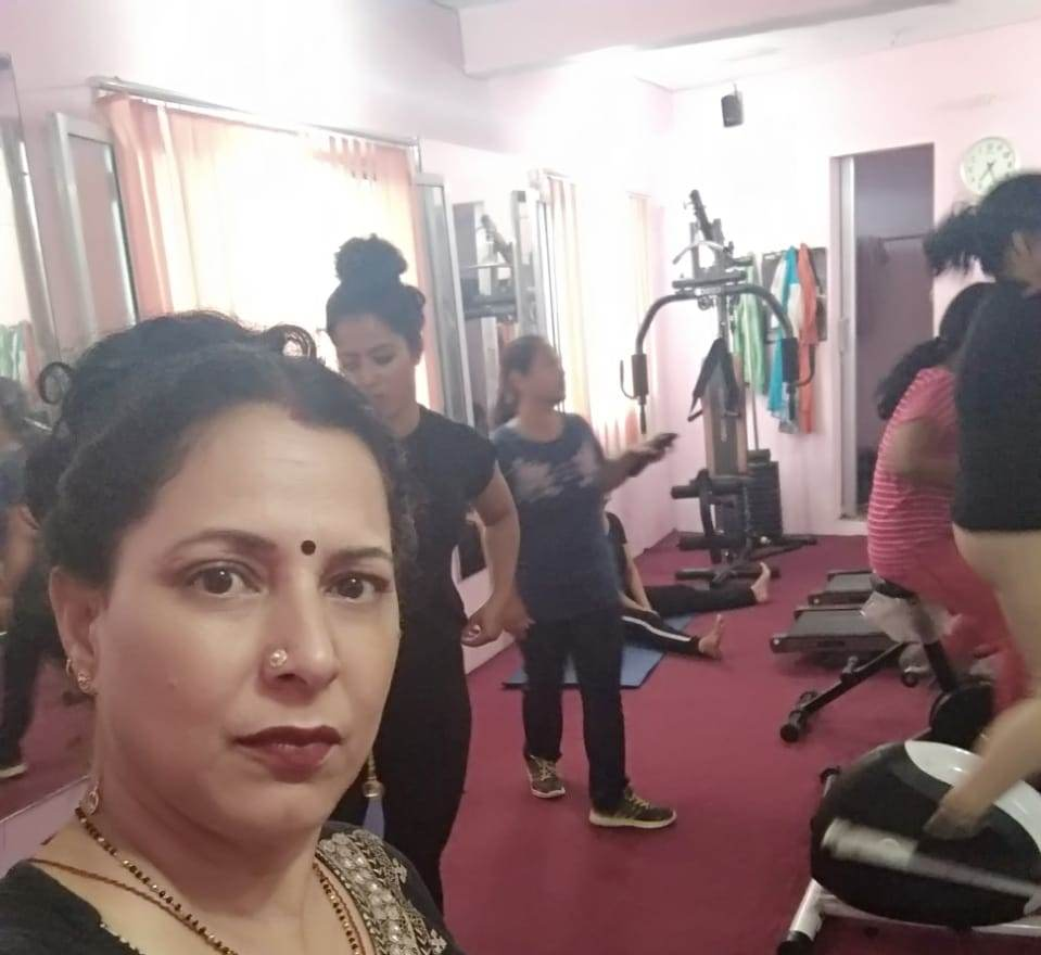 g-square fitness center, dharanaula