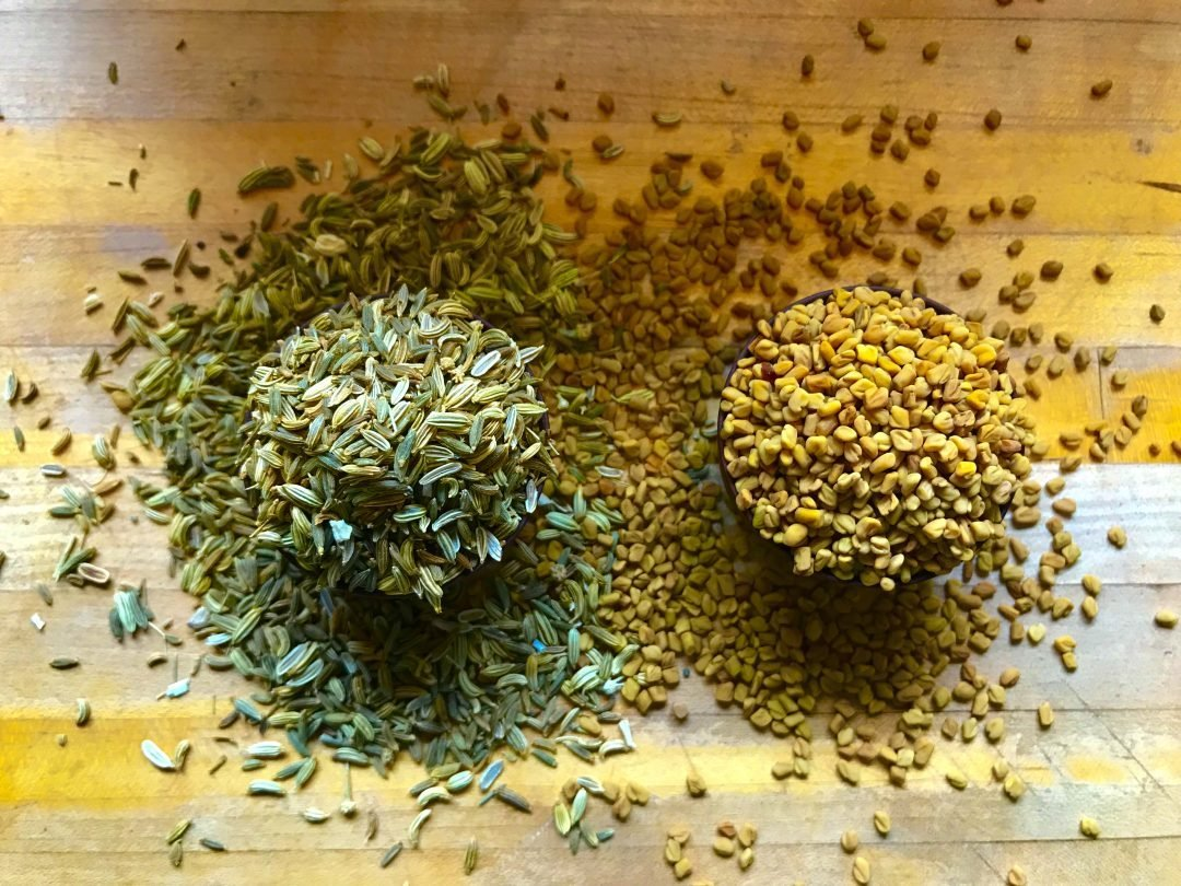 lactation tea fennel fenugreek seeds