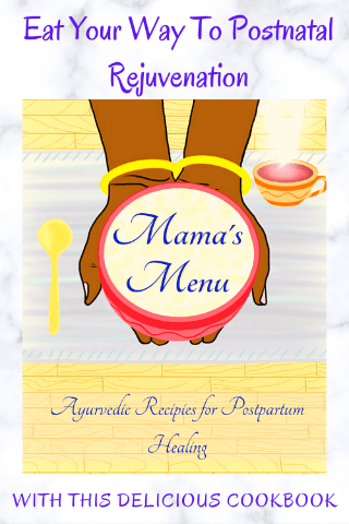 mamas menu postnatal cookbook