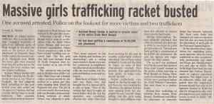Massive girls trafficking racket busted