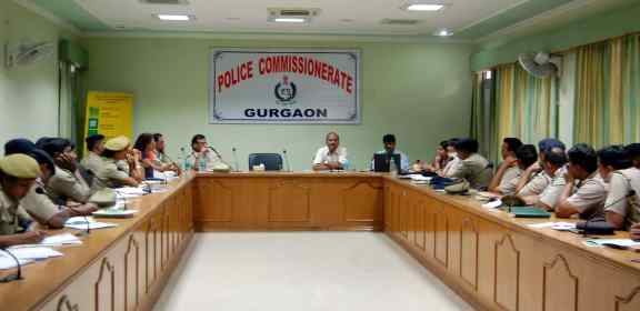 TRAINING AND SENSETIZATION FOR JUVENILE OFFICERS ORGANISED IN GURGAON