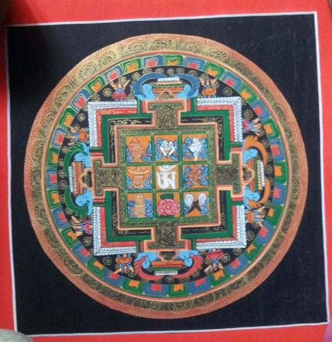 Tibetan Thangka Painting