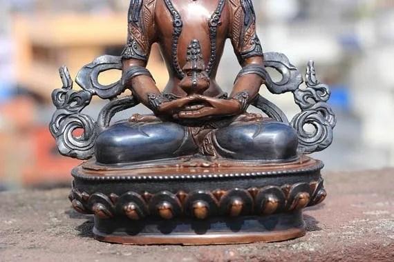 Aparmita Buddha Statue Antique Look