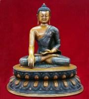Shakyamuni Buddha - Bhumisparsa Mudra - Nirvana