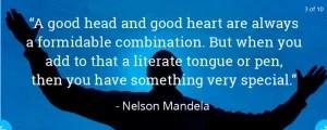 Inspirational Life Quotes Nelsson Mandela