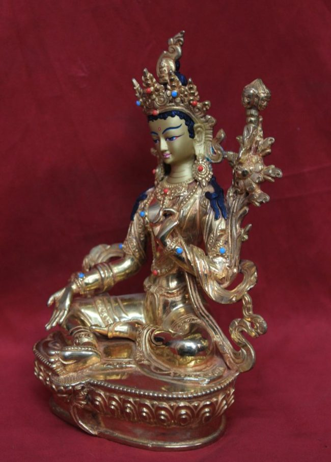 21 taras goddess Tara side view