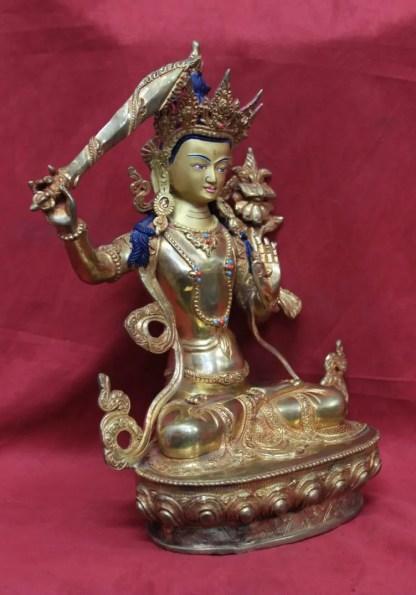 Buddha Showpiece Online Manjushri