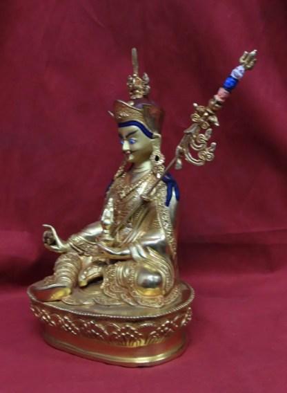 Guru Rinpoche Statue Full Gold