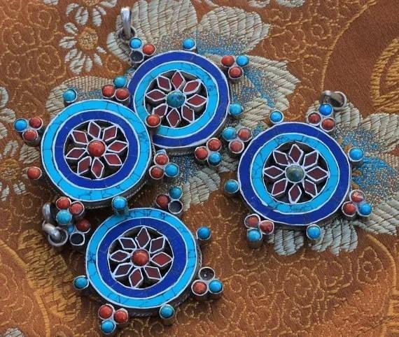 dharmachakra pendant charms