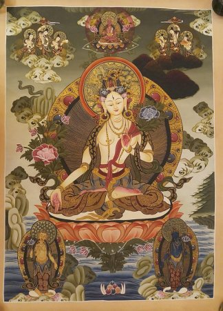 White Goddess Thangka