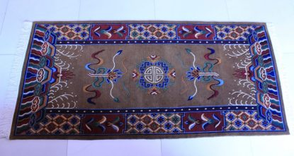 Tibetan Carpet Mandala Rug Horizontal