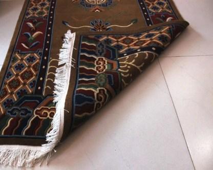 Tibetan Carpet Mandala Rug bottom