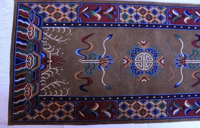 Tibetan Carpet Mandala Rug zoom