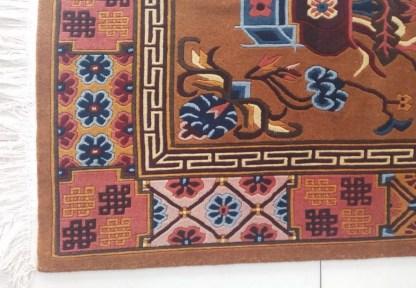 Tibetan rug Mandala carpet