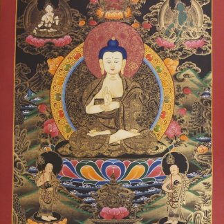 vairocana thangka painting