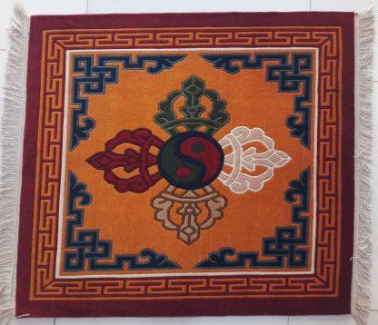 Double Dorje Carpet Tibetan