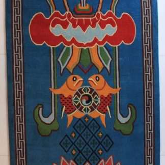 Tibetan Carpet Eight Auspicious