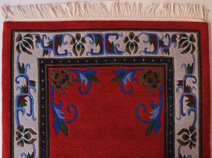 Tibetan Flower Mandala Carpet zoom