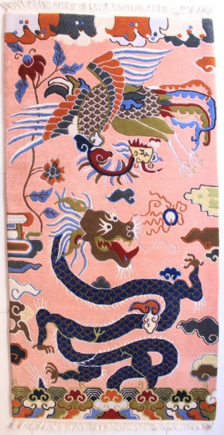 Tibetan rug dragon carpet
