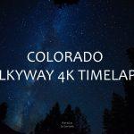 Colorado Night Sky Timelapse !