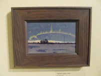 "The famous ""Northern Lights"" by Tom Thomson"